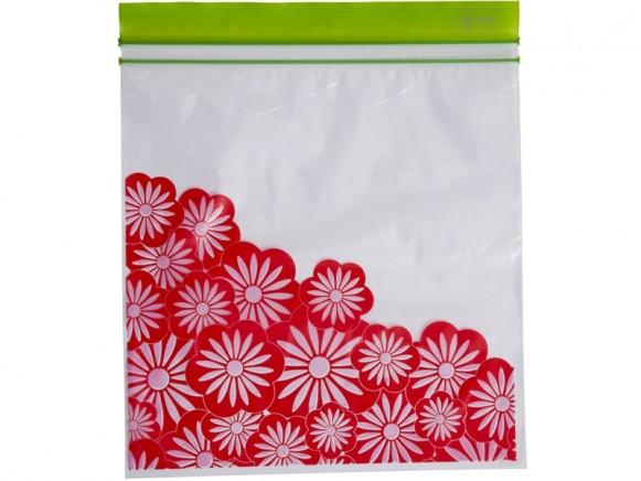 RICE 30 Large Zipper Bags FLOWER