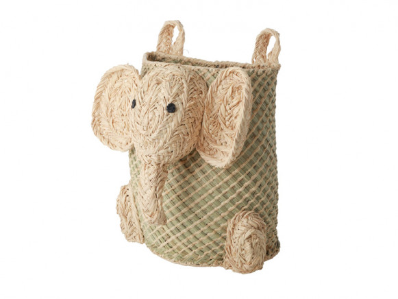 RICE Seagrass Hanging Basket ELEPHANT