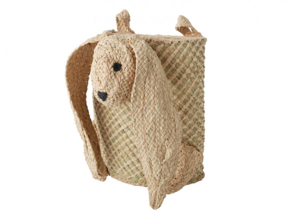 RICE Seagrass Hanging Basket BUNNY
