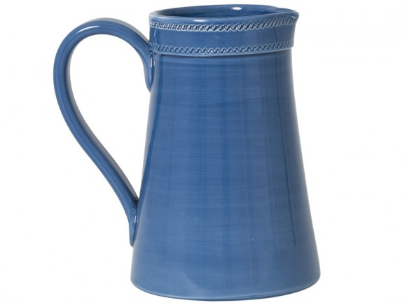 Large jug in dusty blue by RICE