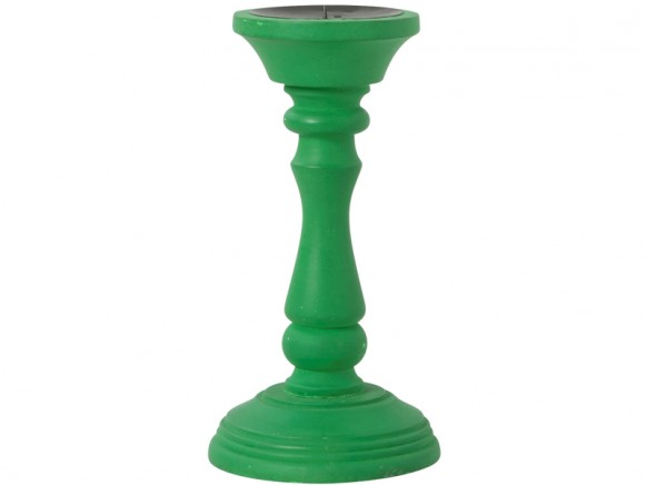 Green candle holder by RICE Denmark
