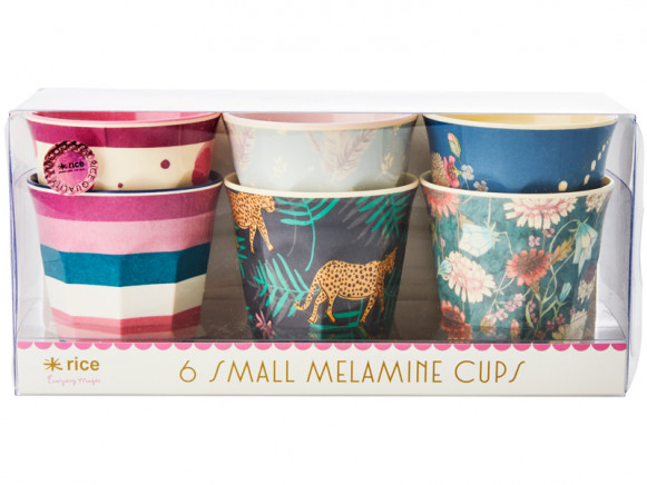 RICE Small Melamine Cups SIMPLY YES Print