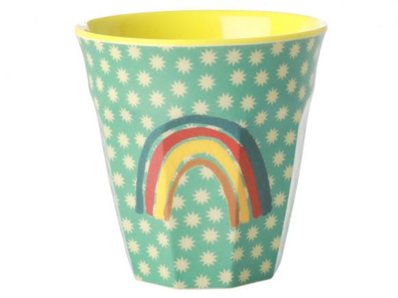 RICE Melamine Cup RAINBOW mint