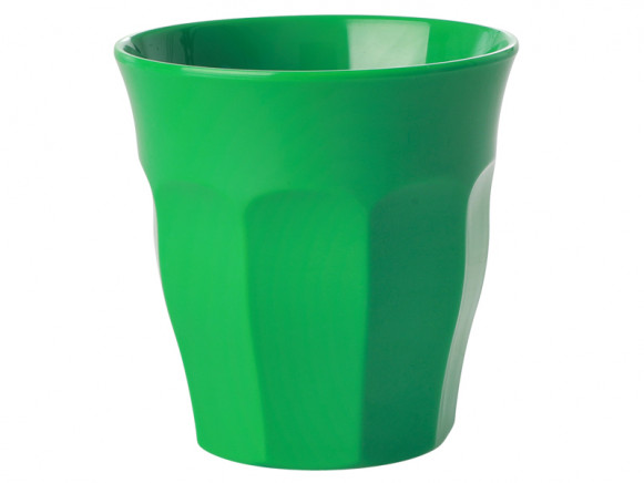 RICE Small Melamine Cup forest green