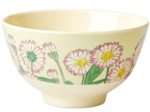 RICE Melamine Bowl DAISY small