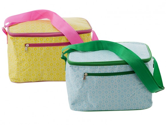 RICE cooler bag with marrakesh print