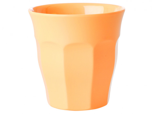 RICE Melamine Cup apricot