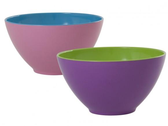 Melamine salad bowl by RICE Denmark