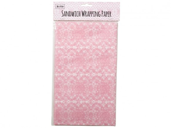 RICE Sandwich Wrapping Paper LACE