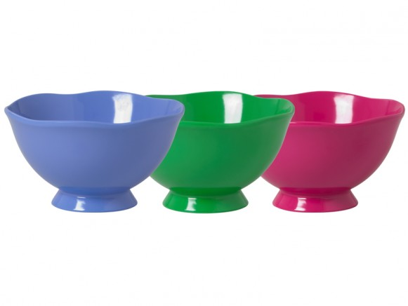 Old-fashioned bowl in assorted colours by RICE