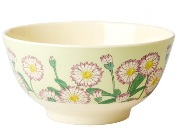 RICE Melamine Bowl DAISY