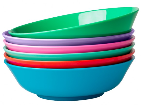 RICE noodle bowl in star colours