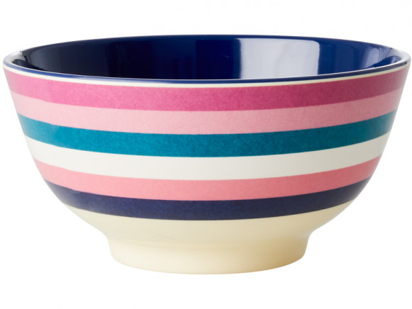 RICE Melamine Bowl STRIPES