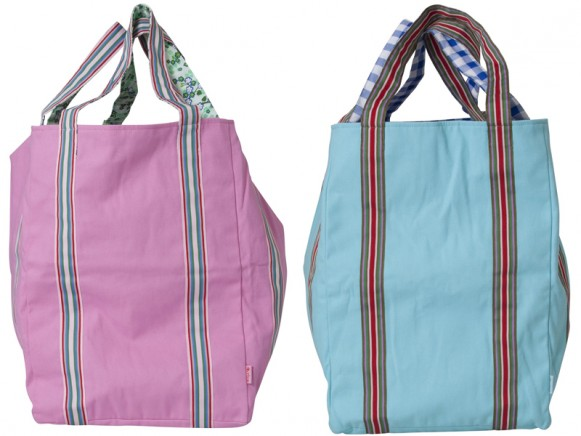 Large canvas bag by RICE
