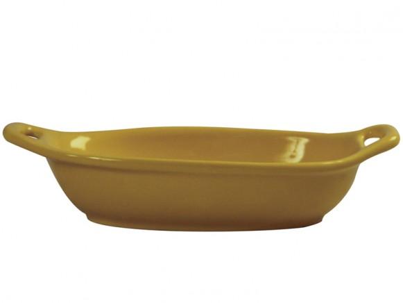 Small spaghetti dish in yellow by RICE