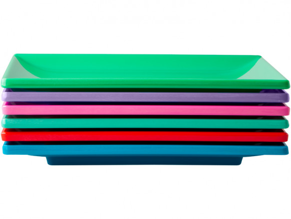 RICE sushi trays in star colours