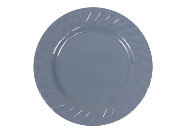RICE Granny Style melamine side plate in gendarme blue