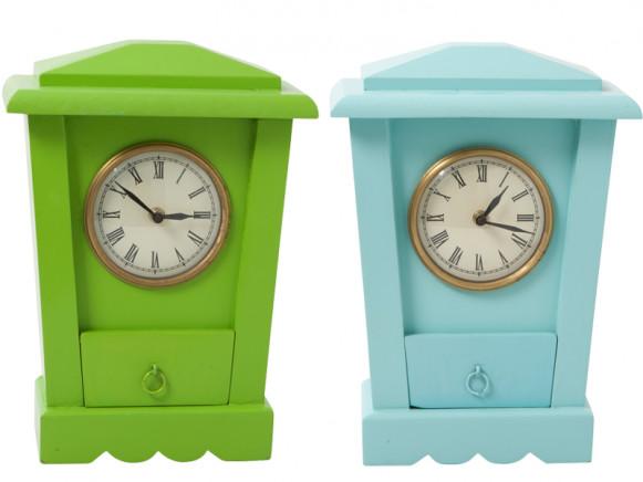 Wooden clock by RICE Denmark