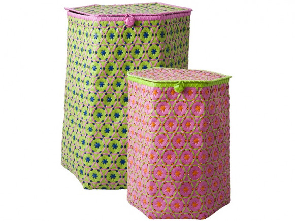 Laundry basket in vietnamese weave by RICE