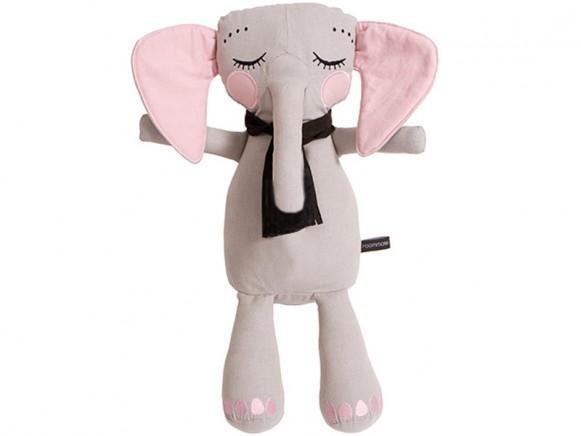 Roommate Soft Toy LITTLE ELEPHANT grey