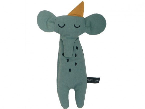 Roommate Rag Doll ELEPHANT sea grey