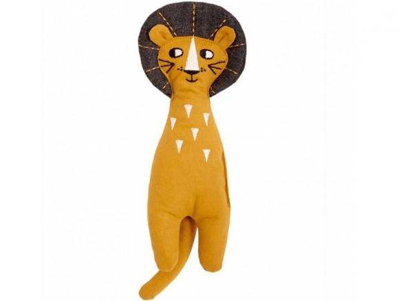 Roommate Rag Doll LION light brown