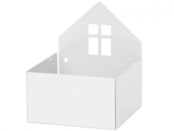 Roommate box shelf HOUSE white