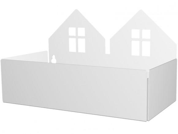 Roommate box shelf TWIN HOUSE white