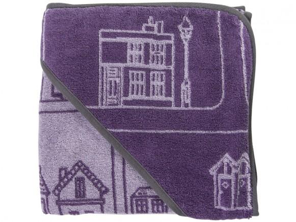 Sebra hooded towel Village Girl
