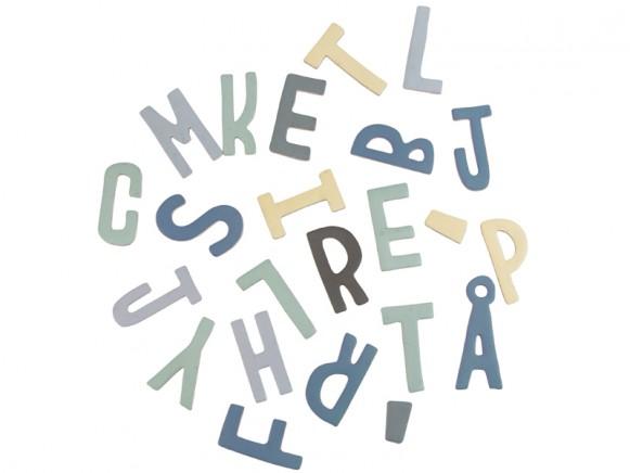 Sebra magnetic letters mixed boy