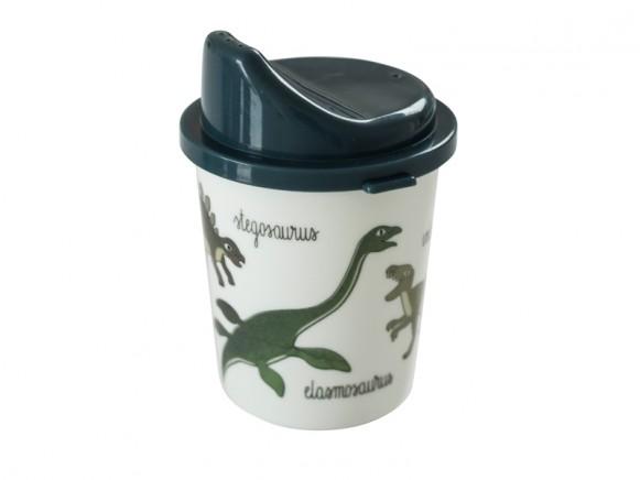 Sebra Melamine baby spout cup Dinosaur