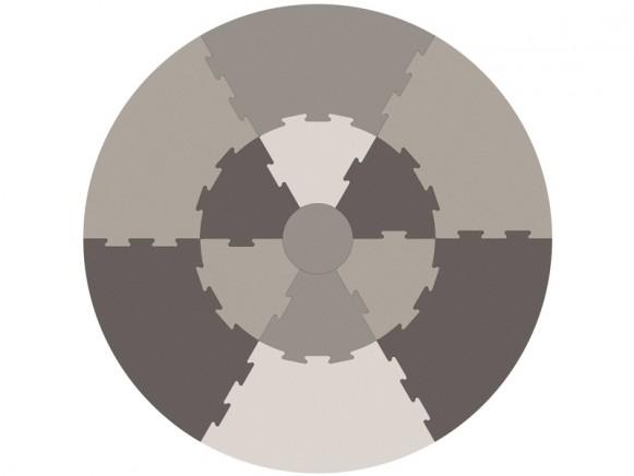 Sebra play mat warm grey