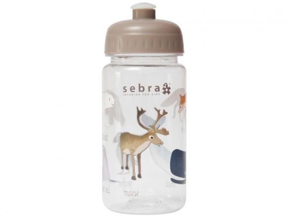 Sebra drinking bottle ARCTIC ANIMALS