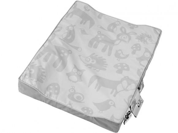 Sebra changing pillow Forest grey