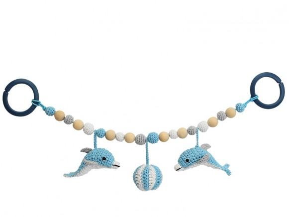 Sindibaba stroller chain DOLPHIN BLUE (LINK)