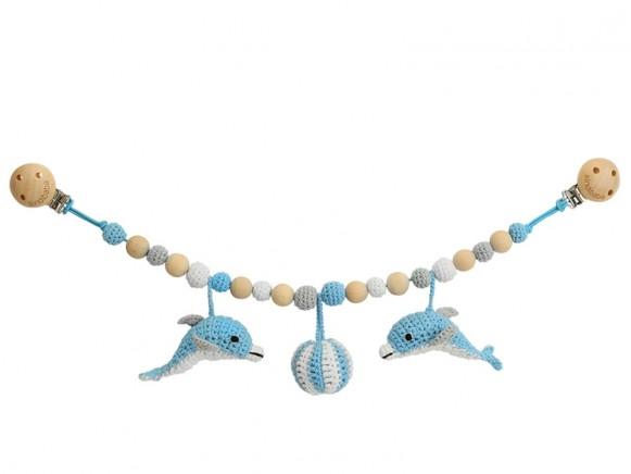 Sindibaba stroller chain DOLPHIN BLUE