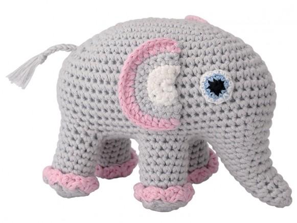 Crochet Amigurumi Elephant | 436x581