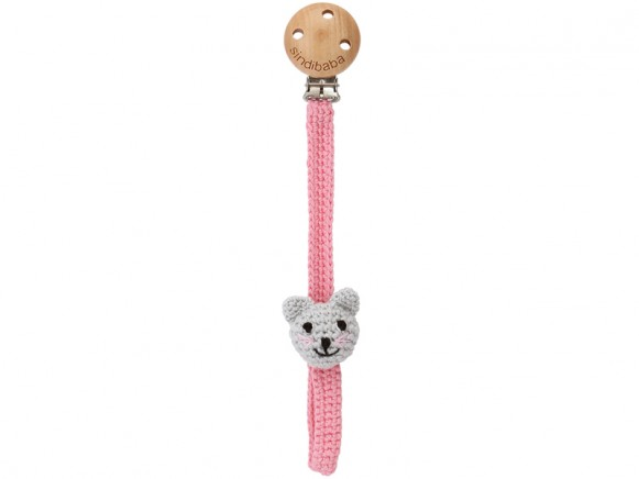 Sindibaba pacifier holder cat KITTY