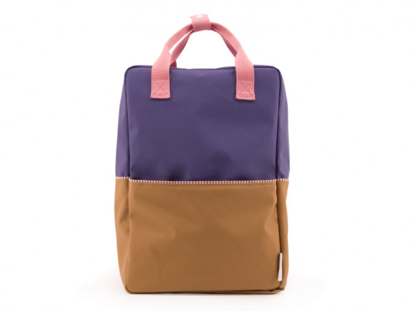 Sticky Lemon Backpack COLOUR BLOCK L lobby purple