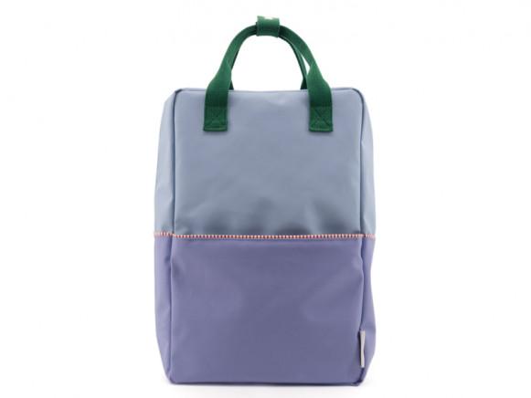 Sticky Lemon Backpack COLOUR BLOCK L heckles blue