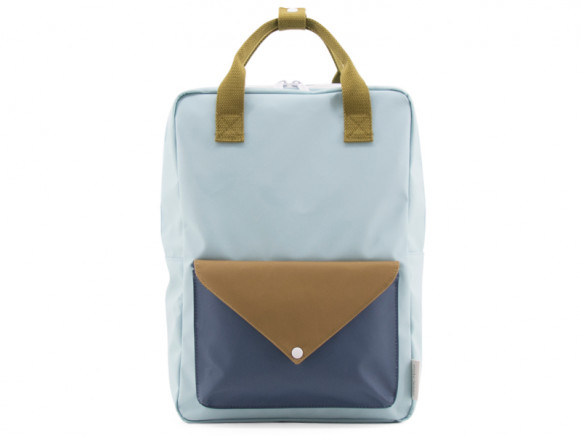 Sticky Lemon Backpack ENVELOPE L misty green