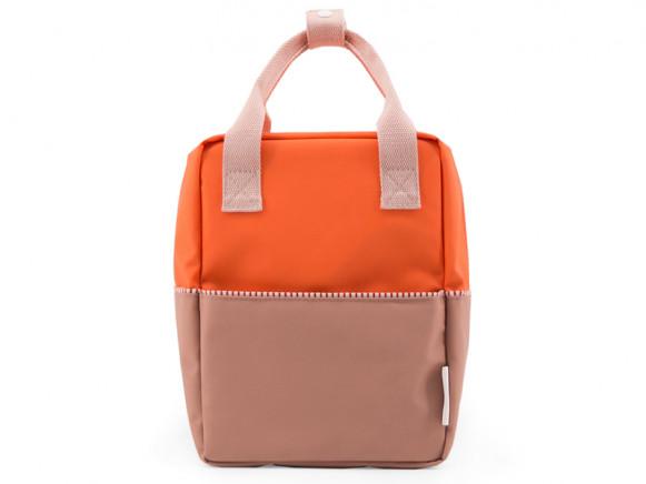 Sticky Lemon Backpack COLOUR BLOCK S royal orange