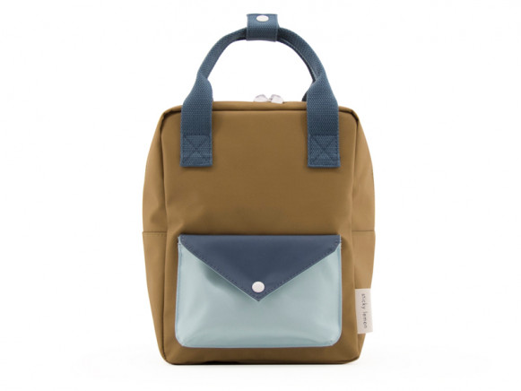 Sticky Lemon Backpack ENVELOPE S gold green