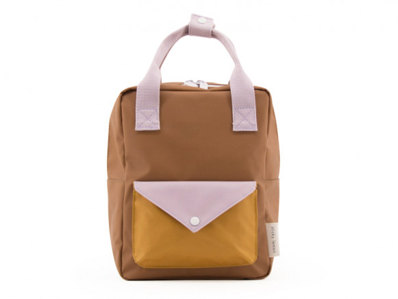 Sticky Lemon Backpack ENVELOPE S sugar brown
