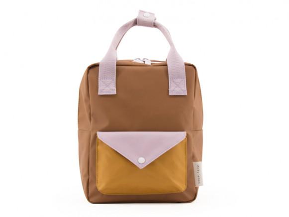Sticky Lemon Backpack ENVELOPE S sugar brown