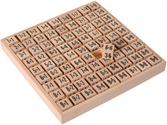 Small Foot Design Abacus MULTIPLICATION TABLES
