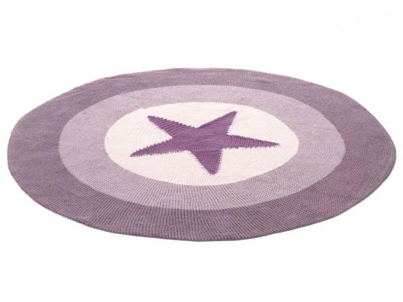 Smallstuff Carpet Star dark rose