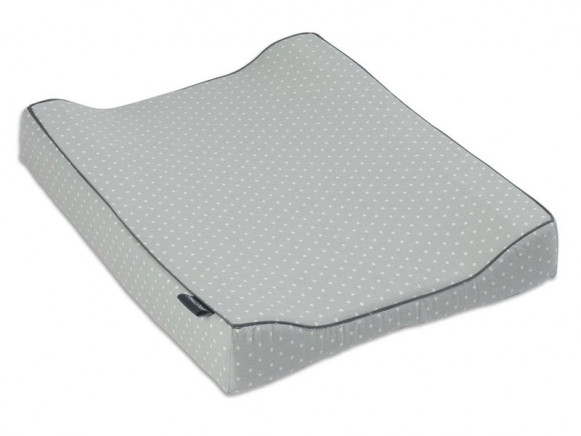 Smallstuff changing pad stars light grey