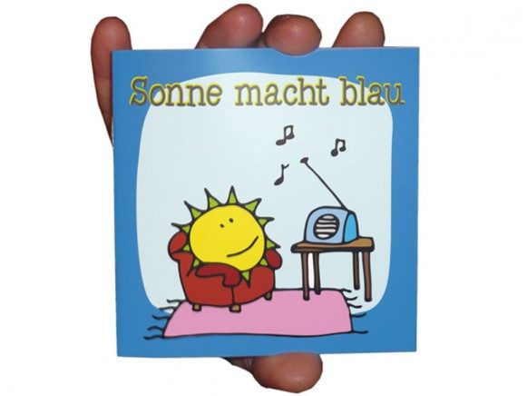 """Kleines Kinderbuch """"Sonne macht blau"""""""