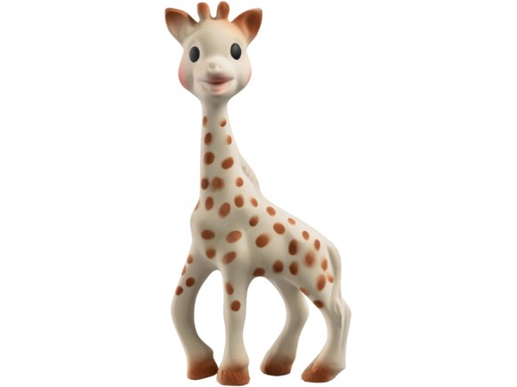 Sophie the giraffe in present box by Vulli